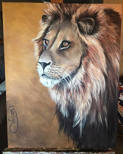 Lion - SOLD