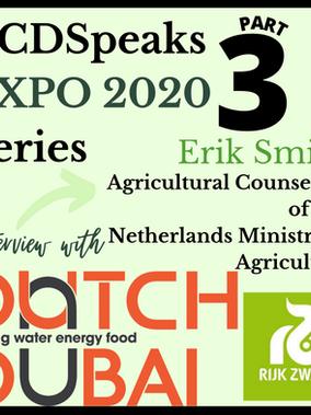 Agricultural Technology: Netherlands Pavilion