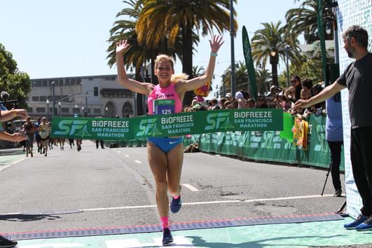 The San Francisco Marathon, 2019