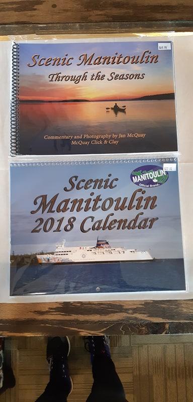 Manitoulin island  calendar