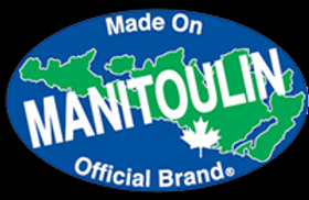 made on manitolin island, official brand