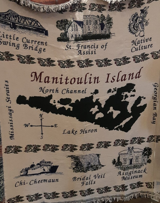 Exclusive Manitoulin Island afghan