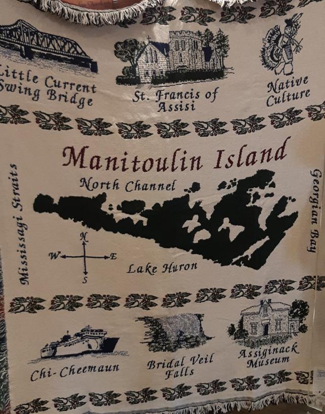 Manitoulin  island afghan