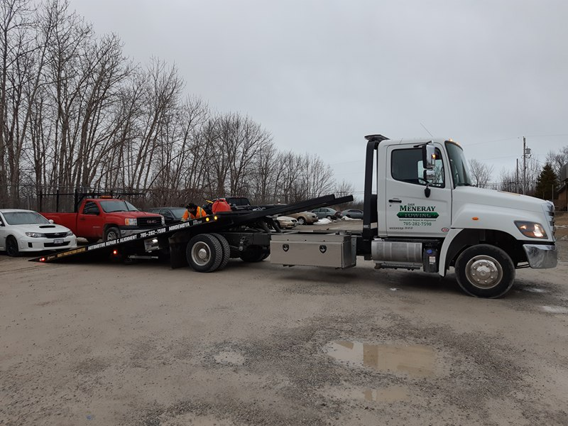 Dan Meneray Towing Manitoulin island