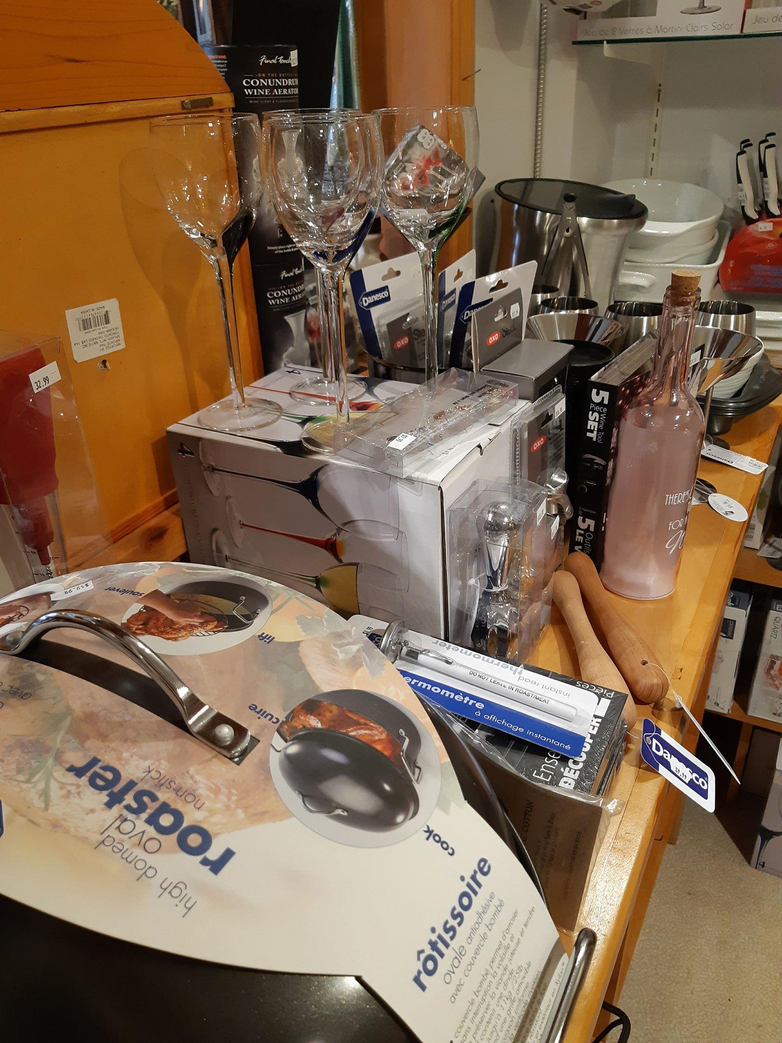 glasses kitchen ware