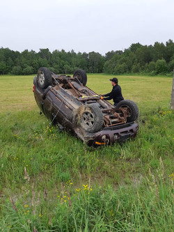 Meneray towing roll over recovery