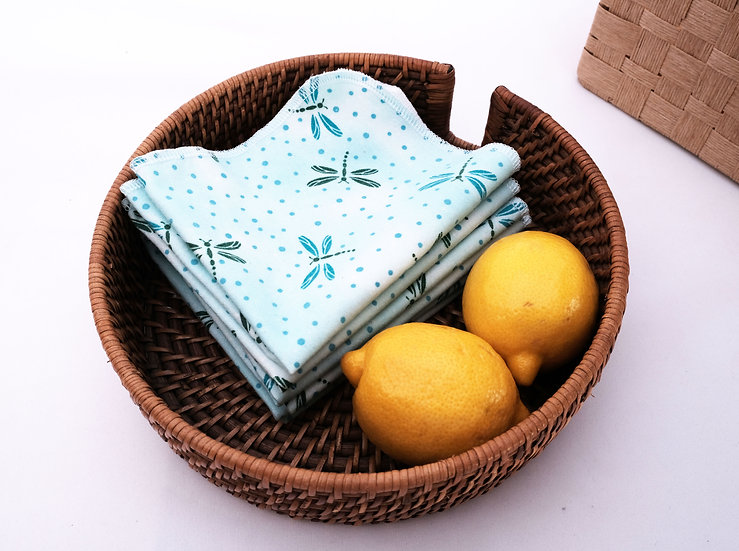 Dragonflies - Paperless Kitchen Towels