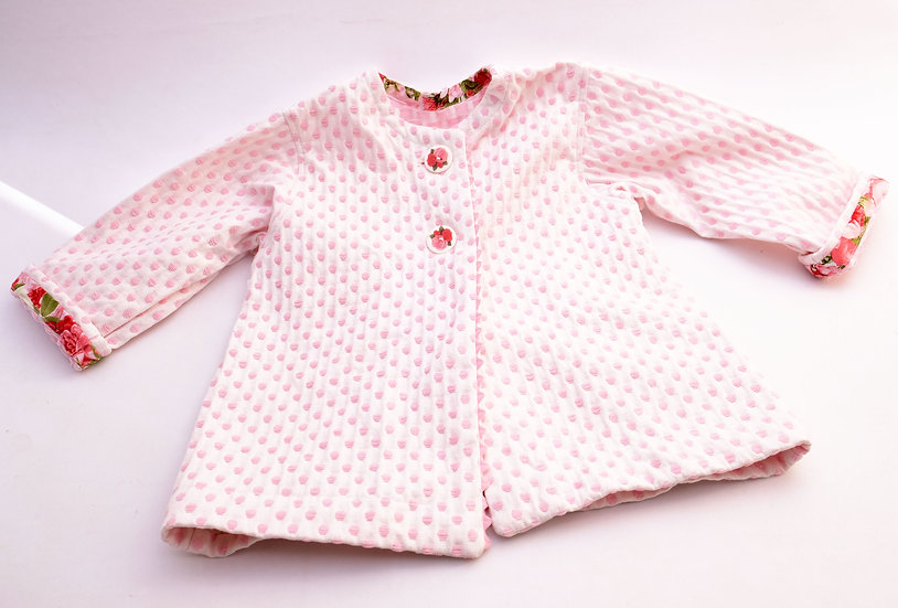 Pink Jacket - 2T | Handmade by Rhonda