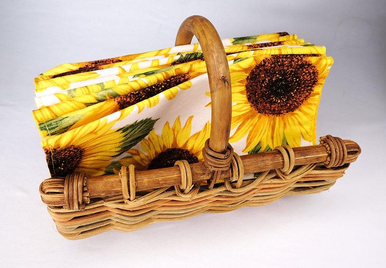 Sunflowers Cloth Napkins