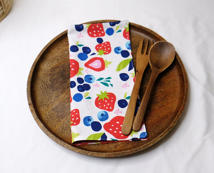 Summer Berries - Cloth Napkins
