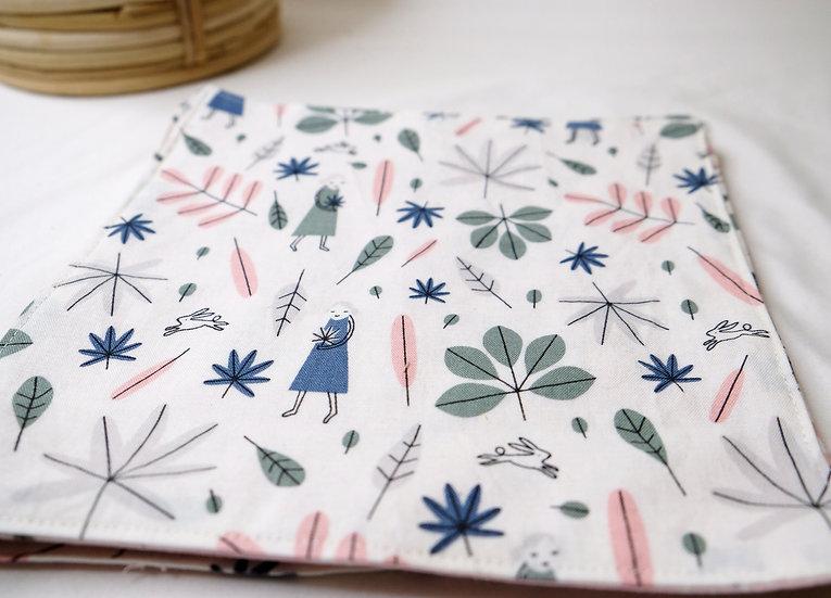 Double Sided Foliage - Cloth Napkins