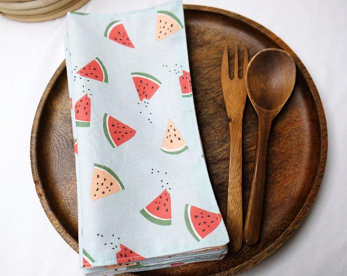 Watermelons - Cloth Napkins