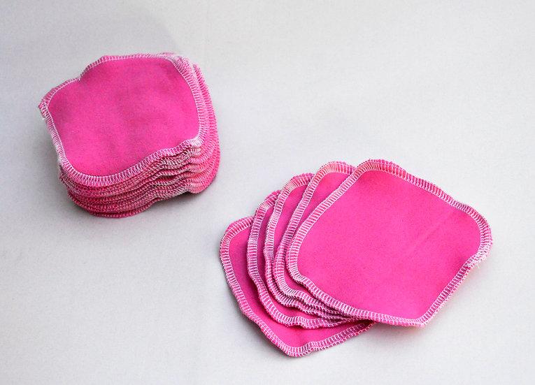 Hot Pink - Set of 5 Facial Rounds
