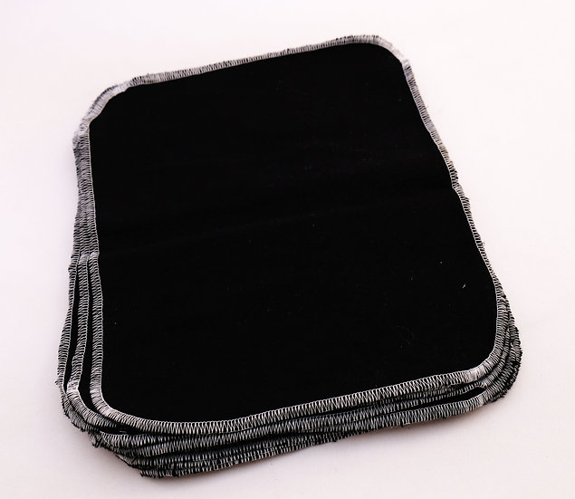 Solid Black - Paperless Kitchen Towels