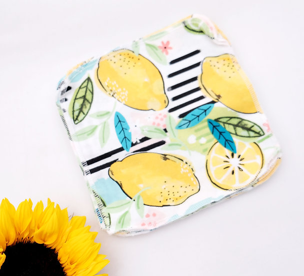Lemons & Limes - Reusable Wipes/Hankies