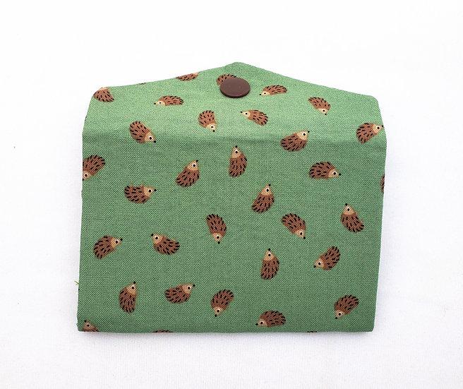 Hedgehogs Fabric Wallet