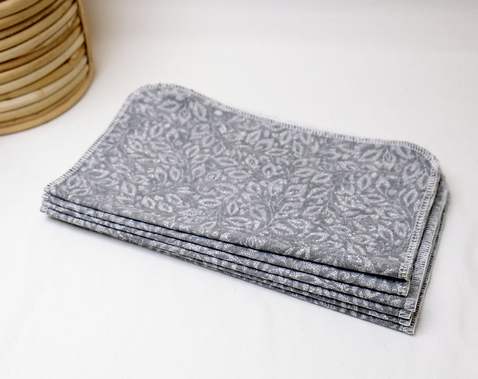 Gray Vines - Paperless Kitchen Towels