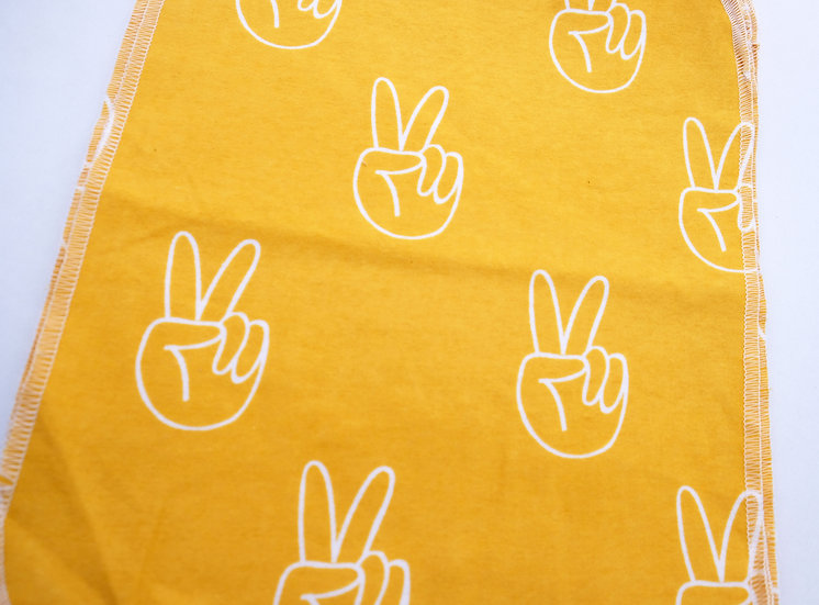 Peace Sign - Paperless Kitchen Towels