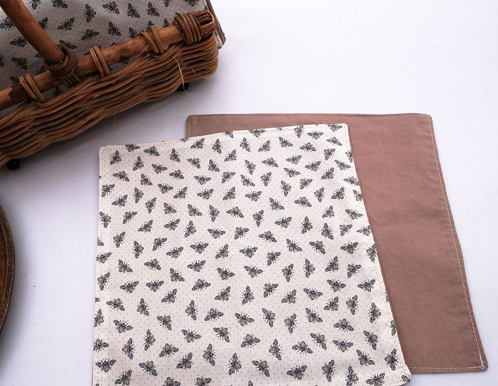 Bees - Cloth Napkins