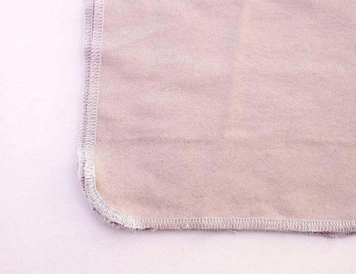 Light Gray Solid Print - Reusable Wipes/Hankies