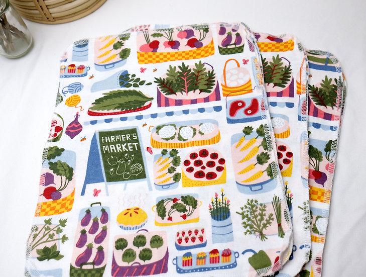 Farmer's Market - Paperless Kitchen Towels
