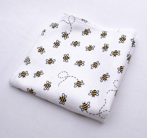 Buzzing Bumblebees - Reusable Wipes/Hankies