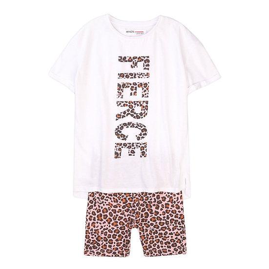 § Fierce Leopard Print Top & Short Set