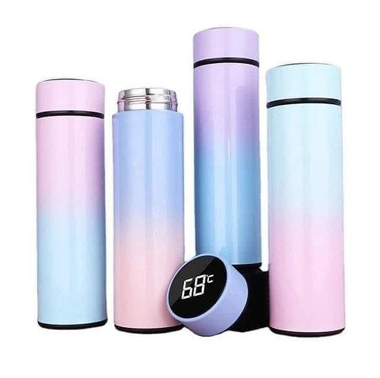 Ombré Pastel Digital Flask Personalised