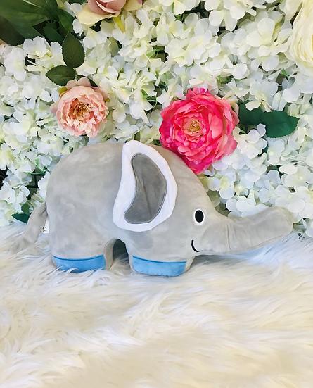 § Blue Elephant Cushion Plush -38cm