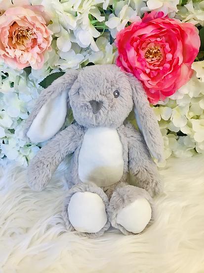 § Grey Newborn Mumbles Bunny -25 cm