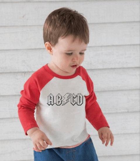 § ABCD Baseball Tee Infant