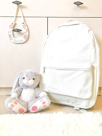 Cream Personalised Backpack