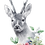 Thumbnail: Personalised Animal Garland Greetings Card
