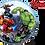 "Thumbnail: Personalised Avengers 22"" Gumball Bubble Balloon Gift"