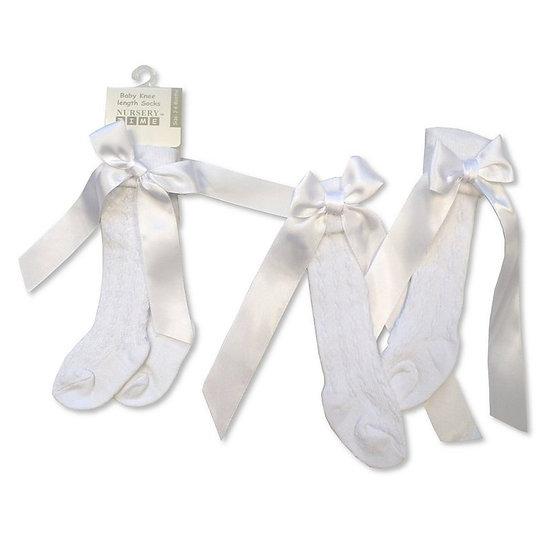 § Knee High Ribbon Socks