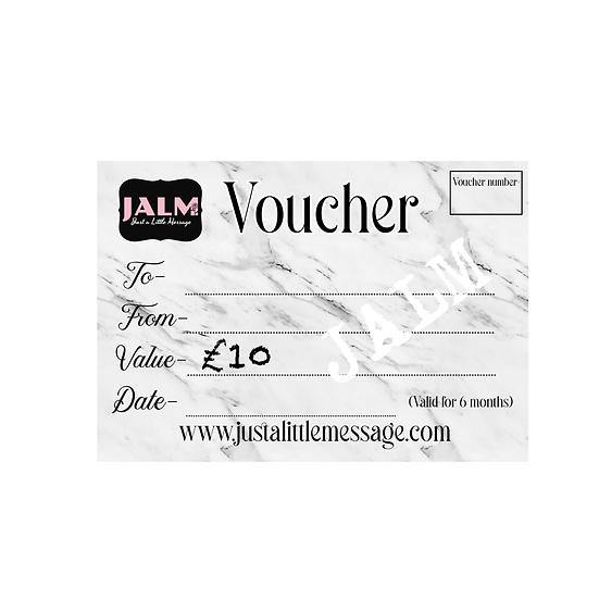 § £10 Gift Voucher