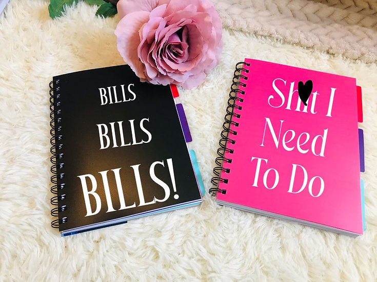 A5 Project Personalised Organiser Notebook