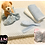 Thumbnail: § New Baby Blue Personalised Gift Set Gift Wrapped