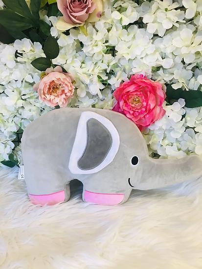 § Pink Elephant Cushion Plush -38cm