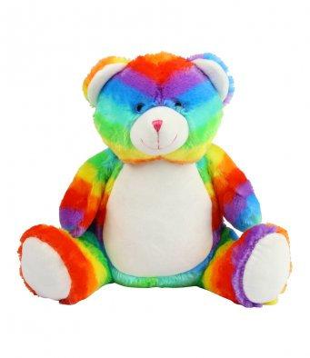 § Personalised Rainbow Ted Large
