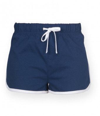 § GIRLS Retro Shorts NAVY