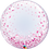 """Thumbnail: Personalised Pink Confetti 24"""" Gumball Bubble Balloon Gift"""