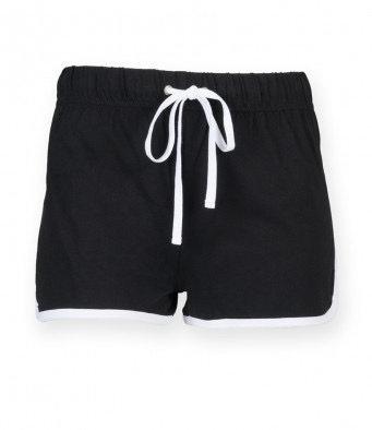 § GIRLS Retro Shorts BLACK