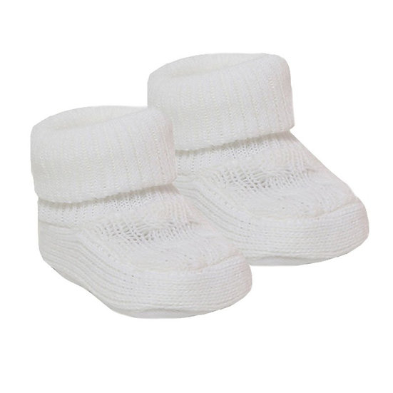 § Super Soft Knit Baby Bootees
