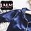 Thumbnail: Navy Satin Kids Pyjamas