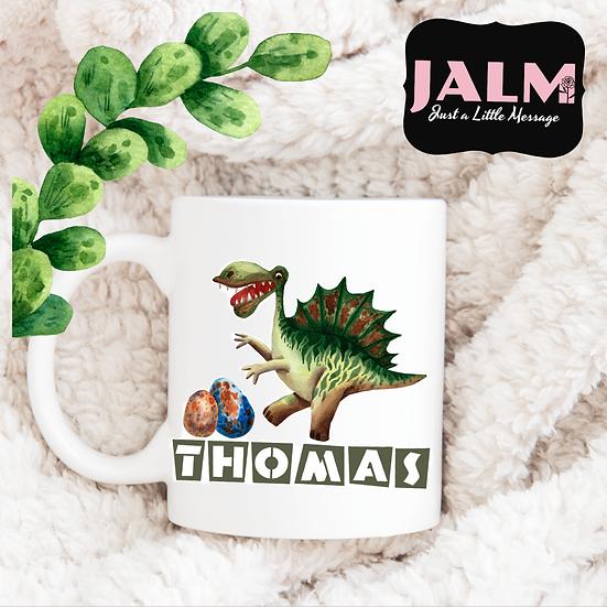 § Personalised Dino Mug