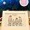 Thumbnail: Personalised Family Penguin A4 Print