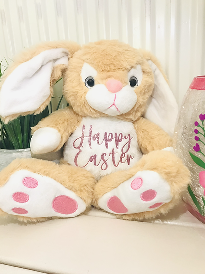 Super Soft Golden Personalised Thumper bunny