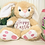 Thumbnail: Super Soft Golden Personalised Thumper bunny