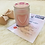 Thumbnail: § Rose scented Frosted Glass Candle jar